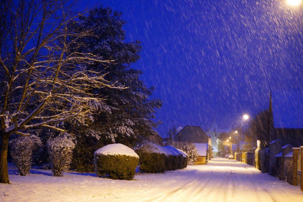 La Motte-Tilly sous la neige