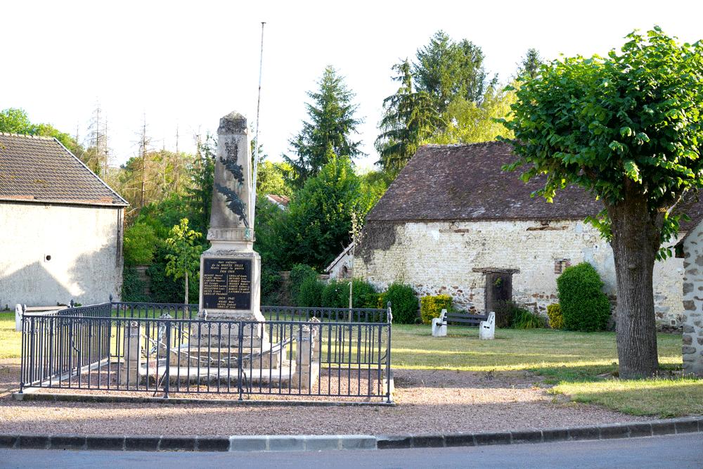 Monument aux morts de La Motte-Tilly
